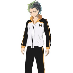 Image 2 - Re: Zero kara Hajimeru Isekai Seikatsu zipper Coat Pants Suit Subaru Natsuki Cosplay Jacket Halloween Costume Sportswear Uniform