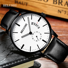 BELUSHI 2019 Men Watches Brand Luxury Steel Strap Waterproof Luminous Quartz Watch Fashion Auto Date Men Clock Relogio Masculino цена
