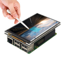Raspberry Pi 4 LCD Display 4inch Touchscreen met 320x480 Resolutie Resistive Touch Control voor RPI 4 RPI 3/B +(China)