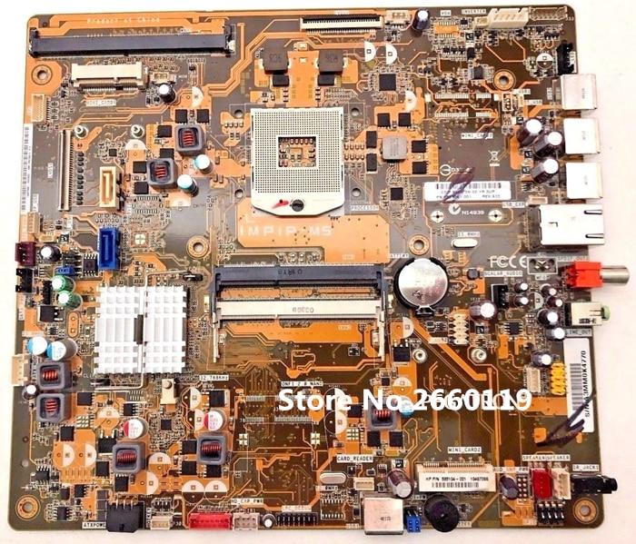 Desktop mainboard for 600-1168cn 600-1268cn IMPIP-M5 585104-001 motherboard Fully tested desktop mainboard for 600 537320 001 ipp7a m5 e60 g20 aio motherboard fully tested