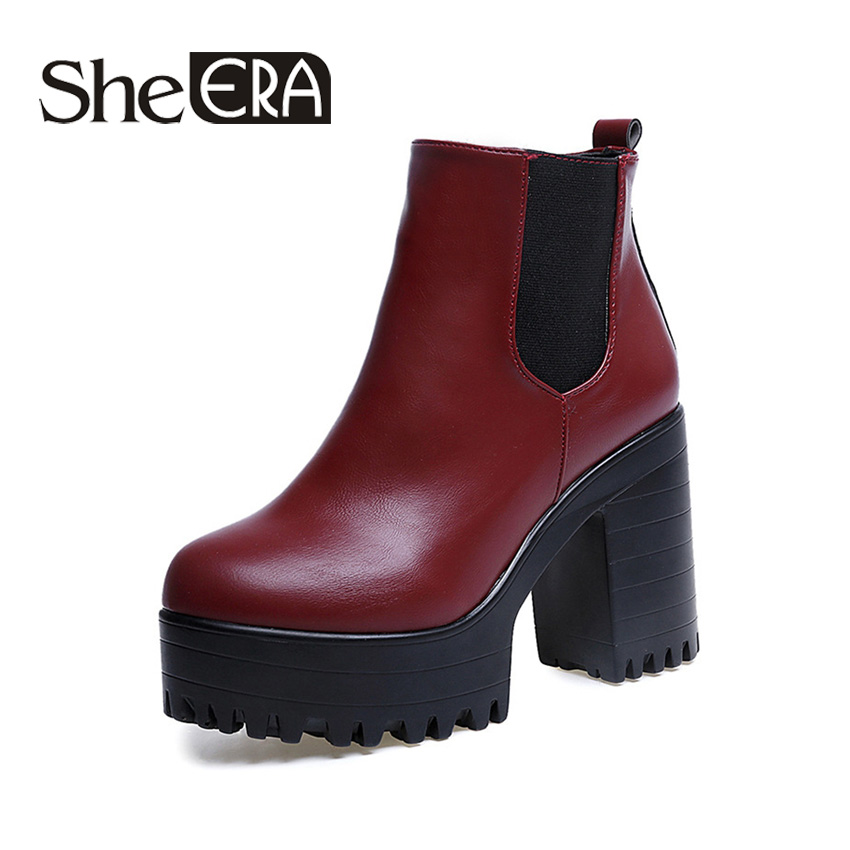 Online Get Cheap Leather Boots Ankle -Aliexpress.com | Alibaba Group