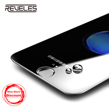 REVELES Screen Protector For iPhone 7 8 6 6s Plus 3D Protective Film Full Cover Tempered Glass HD Protector For iPhone 8 7 Plus