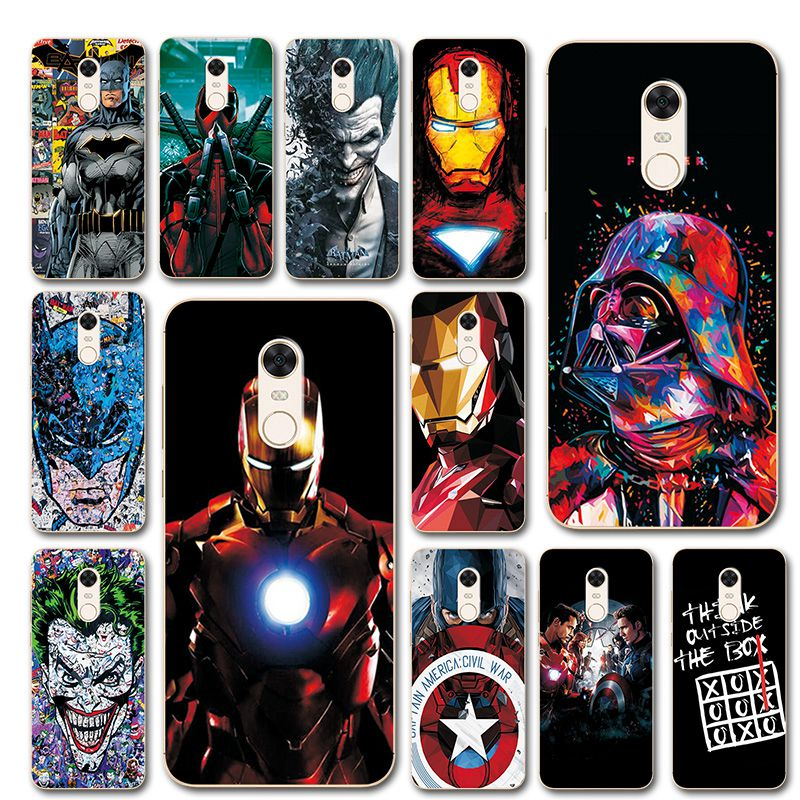 Phone Bags & Cases Persevering For Xiaomi Redmi 5 Plus Tpu Case Cover On Redmi 5plus Bumper Novelty Captain America Painted Phone Case Coque For Xiaomi Redmi 5 Skilful Manufacture