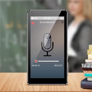 Image 3 - 2020 mais novo leitor de mp3 ruizu d20 3.0 Polegada tela sensível ao toque completo alto falante de alta fidelidade lossless leitor de música com fm, player de vídeo