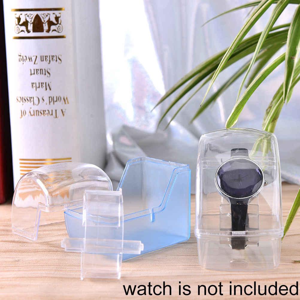 Rack Stand כלי ברור פלסטיק שעון יד תצוגת rack מחזיק ברור אקריליק שעון תצוגה מחזיק להראות מקרה stand כלי