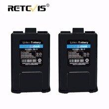 2 pièces 100% Nouveau Retevis 7.4 V 1800 mAh Li-ion Batterie BL-5 Pour Baofeng Batterie UV-5R UV 5R Retevis RT-5R RT5R Radio À Moscou