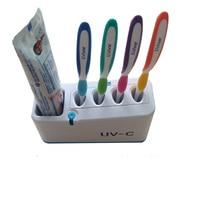 Dental Care Family UV Toothbrush Sanitizer Toothbrush Holder UV Light Sterilizer Box