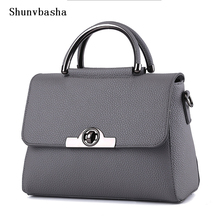 2016 Women Bags Casual Tote Women PU Leather Handbags Shoulder Bags Women Messenger Crossbody Bags Famous new Designer Bag