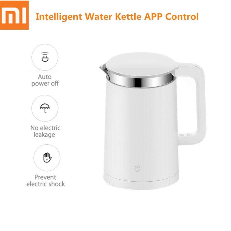 1.5L Xiao mi mi bouilloire électrique intelligente acier inoxydable mise hors tension automatique 12h température APP contrôle bouilloire d'eau intelligente 1800W