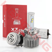 1 Pair LED H4 9004 H13 Car Headlight 120W 9600LM Car Styling Automotive Bulbs 6000K White