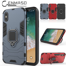 For iPhone X case OPPO A39 capa Vivo Y66 Y67 case for iphone 5 6 7 8 plus phone cover funda for Huawei honor 6x armor case(China)