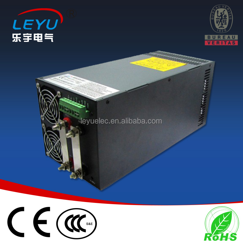 High power 1500w power supply CE RoHS approved SCN-1500-24 ac to dc power supply with parallel function ce rohs high power scn 1500 24v ac dc single output switching power supply with parallel function