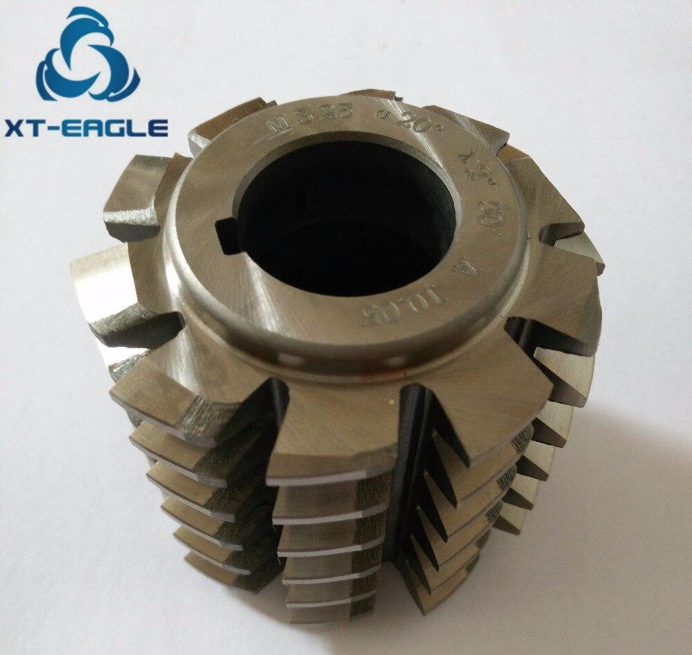 HSS M3 25 Module Gear Hob Cutter PA20 degree 75 65 27hole