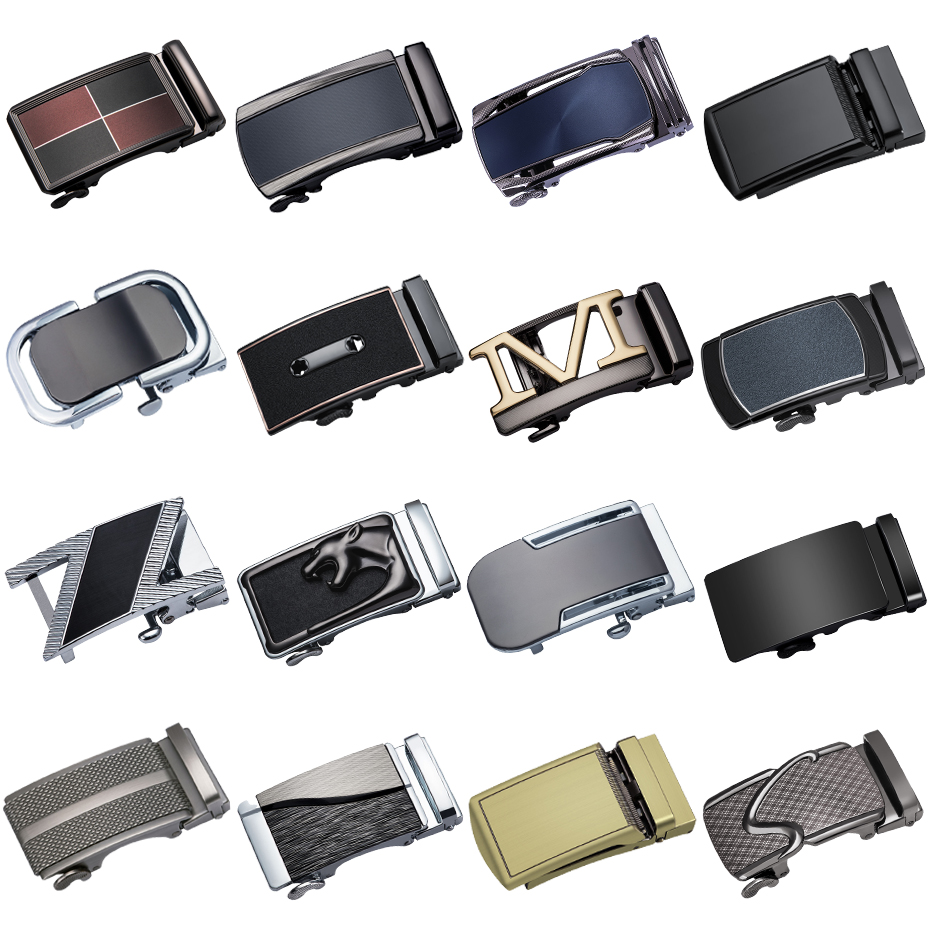 DiBanGu Fashion Designer   Belts   High Quality Alloy Buckle For Not   Belt   Body Sliding Buckle Ratchet Luxury Men Automatic Buckle