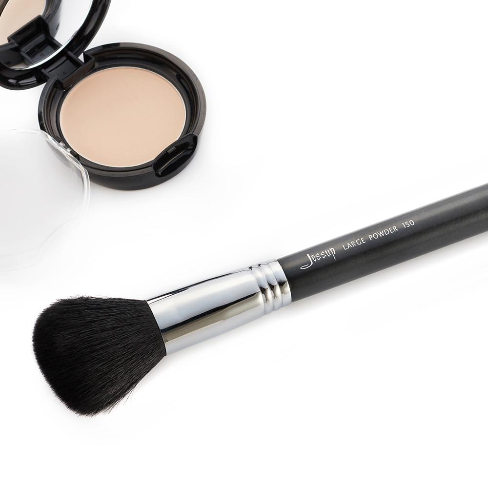 Conjunto de 27 Uds., juego de brochas de maquillaje profesional, base de belleza, sombra para el rostro, lápices labiales en polvo, Kit de maquillaje, herramientas T133 - 4
