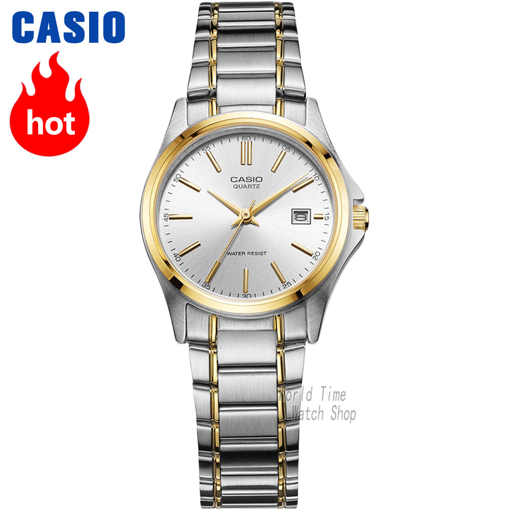 Casio Watch Women Elegant Brand Famous Luxury Quartz Watches Ladies Ltp 1095e 7b Womenamp039s Analogue Womens Minimalist Fashion Casual Waterproof