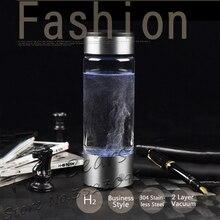 Перезаряжаемые богатый генератор водорода воды энергии электролиза водорода богатых антиоксидантом ОВП H2 ионизатор воды ПП бутылка для чашки