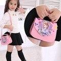 GUNUOYI Girls Bag Kids PU Leather Handbag Inclined Shoulder Bag Crossbody Suitable for Kindergarten Little Girl