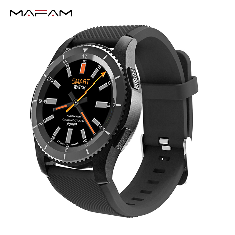 MAFAM G8 Smart Watch Men Women SIM Call Message Reminder Heart Rate Monitor Fitness Tracker Smart Watch For iOS Android цена 2017