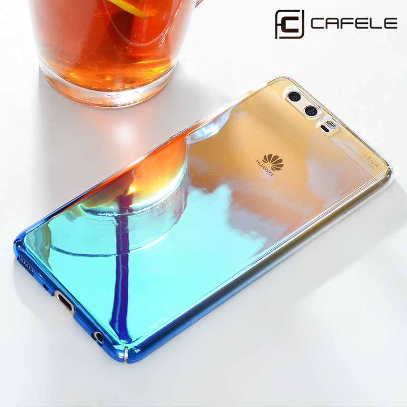 CAFELE Luxury Phone Cases for Huawei Honor 8 Lite Case Hard PC Fashion Aurora Colorful Transparent Cover for HUAWEI Honor 8 Case ...