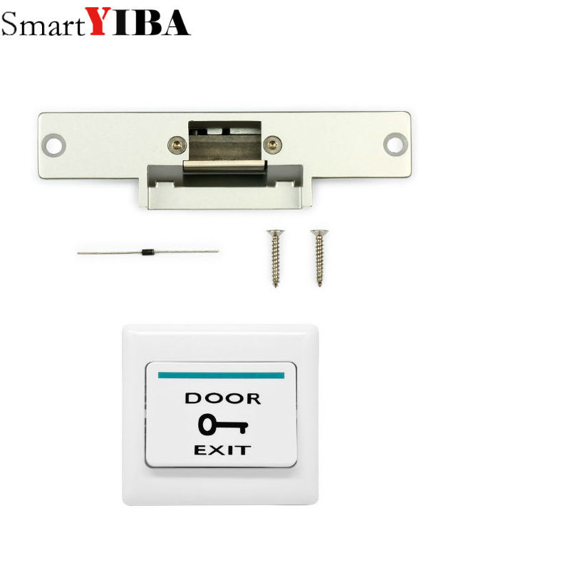 все цены на SmartYIBA Door Lock for Video Doorphone Intercom Electronic Door Lock For Access Control System Door Opener For Doorbell