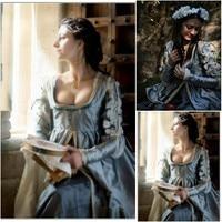 SC 376 Victorian Gothic Vitage Dress Halloween Theater Movie Loose Dresse Custom Made