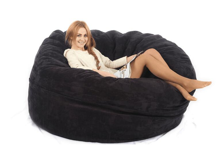 Excellent Us 149 0 Large Bean Bag Adult Bean Bag Chair Bean Bag Cover Not Included Fillings With High Quality Micro Suede In Living Room Sofas From Furniture Caraccident5 Cool Chair Designs And Ideas Caraccident5Info