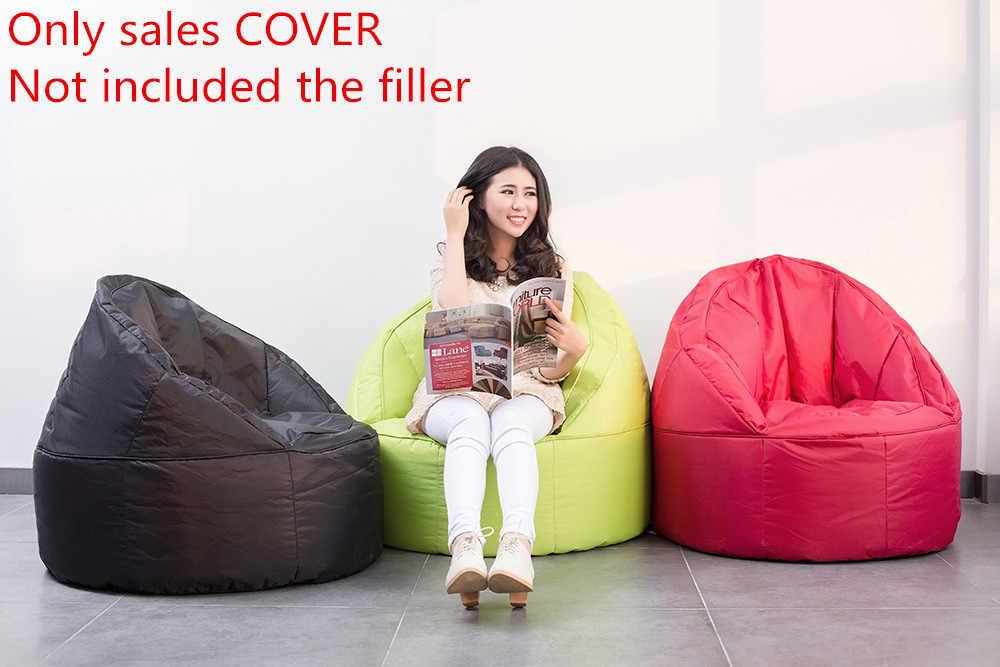Sacos de feijão saco de feijão cadeira para Adulto preguiçoso saco TAMPA apenas fornecido Não incluído enchimento/sofá inflável