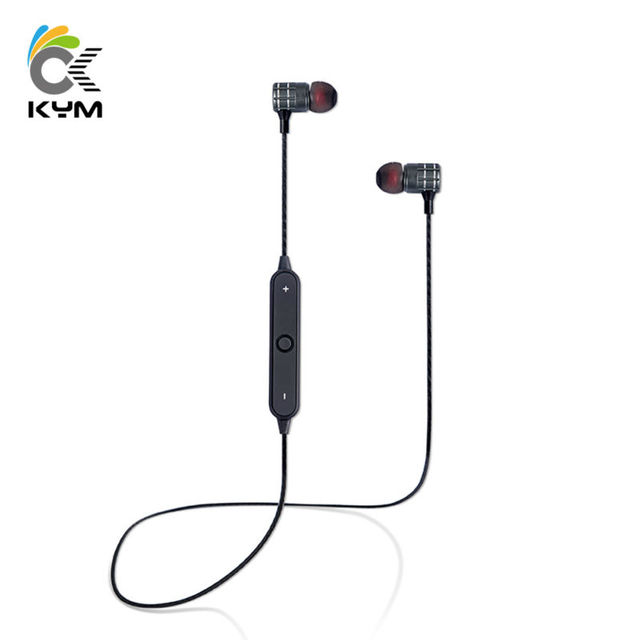 KYM BT21 Brand Bluetooth Earphone With Mic Wireless