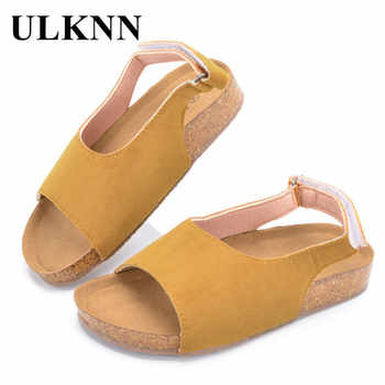 ULKNN Summer Beach Sandals Kids Boys Shoes For Girls Children Sandals Open-Toe Breathable Casual Shoes Toddler Baby School Shoe - DISCOUNT ITEM  42% OFF All Category