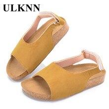 ULKNN Summer Beach Sandals Kids Boys Shoes For Girls Childre