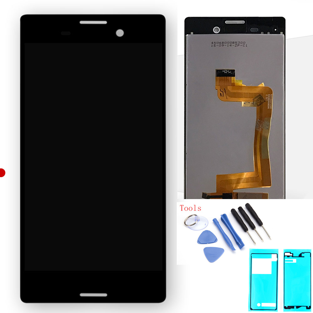 Touch Screen For Sony Xperia M4 Aqua E2303 E2306 E2353 E2312 E2333 E2363 LCD Display Digitizer Sensor Glass Assembly Free Tools
