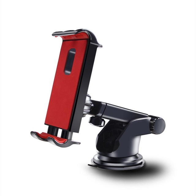 Car Phones Tablets holder for Samsung Honor IPAD pro air mini 1234 7 8 GPS 360Degree adjustable Mobile suction cup bracket stand 3