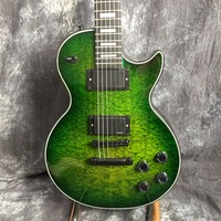 Hot! Electric guitar / G LP guitar customized Green Wave on the Chinese stock market free shipping
