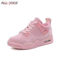 ALL YIXIE 2019 New Fashion Women Leisure Shoes Female Summer Casual Breathable Air Cushion Heighten Sneakers Student