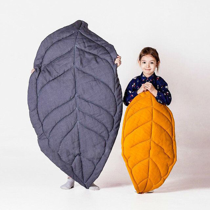 Leaf Shape Toddler Carpet Baby Thick Play Mat Play