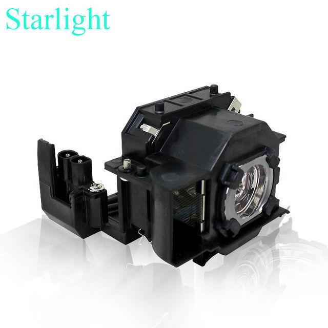 V13h010l36 elplp36 para epson emp-s4 emp-s42 powerlite s4 lâmpada do projetor