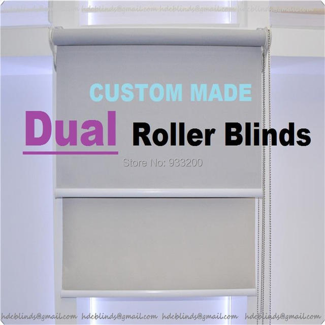 Aliexpresscom Buy Window day and night dual roller blind