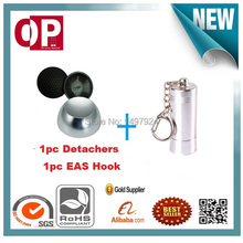 12000gs Universalmagnetic security tag removers with 1pc mini portable pocket detacher hook key