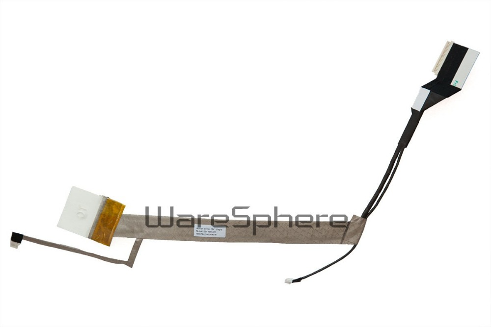 NEW Laptop LCD LED LVDS Video Flex Cable   for HP Compaq Presario CQ50 CQ60 Screen Video CABLE  50.4H507.001 for thinkpad x1 carbon led lcd laptop screen b140xtn02 5 1366x768 lvds 40pin original new