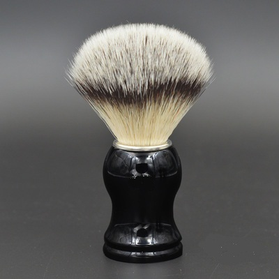 Hot Sale High Quality Men Shaving Brush Pure Badger Brushes Barbear Resin Handle Brocha Hair Knot Beard Brush for Mens Bear