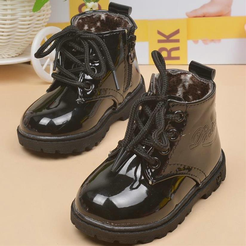 HaoChengJiaDe Boys Boots Candy Color Children Shoes Autumn Solid Fashion Martin Girls Boots Kids Soft Waterproof Boots Size21-30HaoChengJiaDe Boys Boots Candy Color Children Shoes Autumn Solid Fashion Martin Girls Boots Kids Soft Waterproof Boots Size21-30