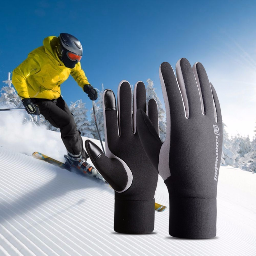 New Winter Warm Touch Screen Gloves Outdoor Sport Cycling Hiking Motorcycle Ski Gloves For Men Women Windproof Gloves M/L/XL