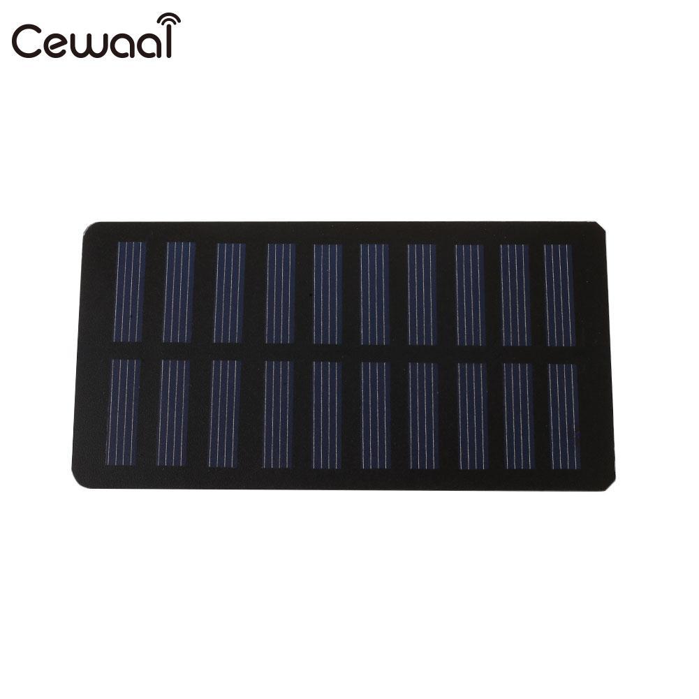 Photovoltaic Panels Solar Energy 1.2W Solar Cells Durable Battery Charger Solar Panel Module