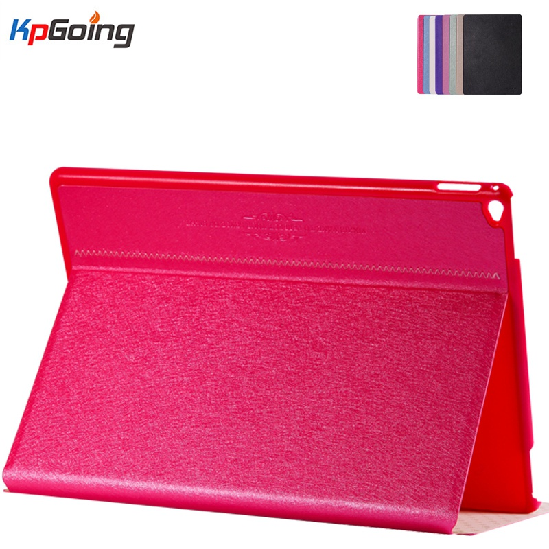 Case for Ipad Pro 12.9'' Inch Flip Stand Cover for Ipad Pro  Pu Leather Fashion Smart Ipad Pro 12.9 Case Pink for ipad pro 10 5 inch 2017 origami stand smart pu leather flip case cover brown