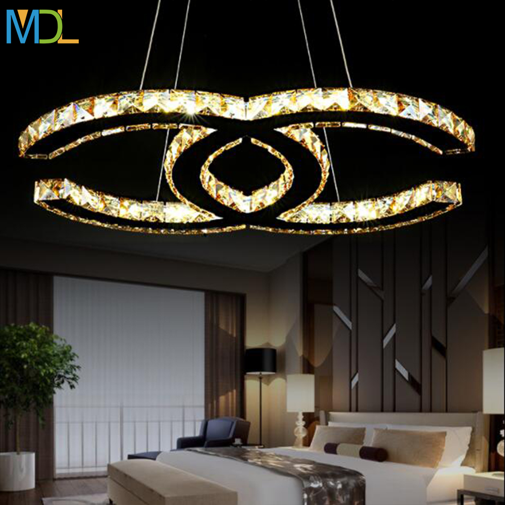 Simple Modern Art LED Crystal Chandeliers Silver Amber Ceiling Mount Light Modern K9 Romantic Pendant Bedroom light FixturesSimple Modern Art LED Crystal Chandeliers Silver Amber Ceiling Mount Light Modern K9 Romantic Pendant Bedroom light Fixtures