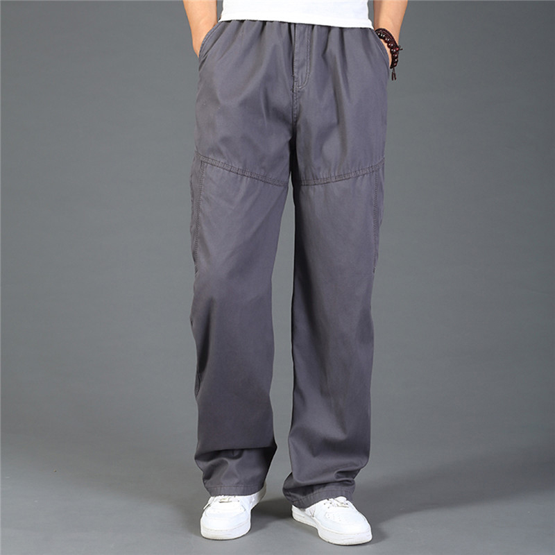 2020 High Quality <font><b>Men</b></font> Casual Pants Breathable Straight Man Trousers Cargo Pants Tactical Pants Winter <font><b>Plus</b></font> <font><b>Size</b></font> <font><b>6XL</b></font> <font><b>Men</b></font> <font><b>Clothing</b></font> image