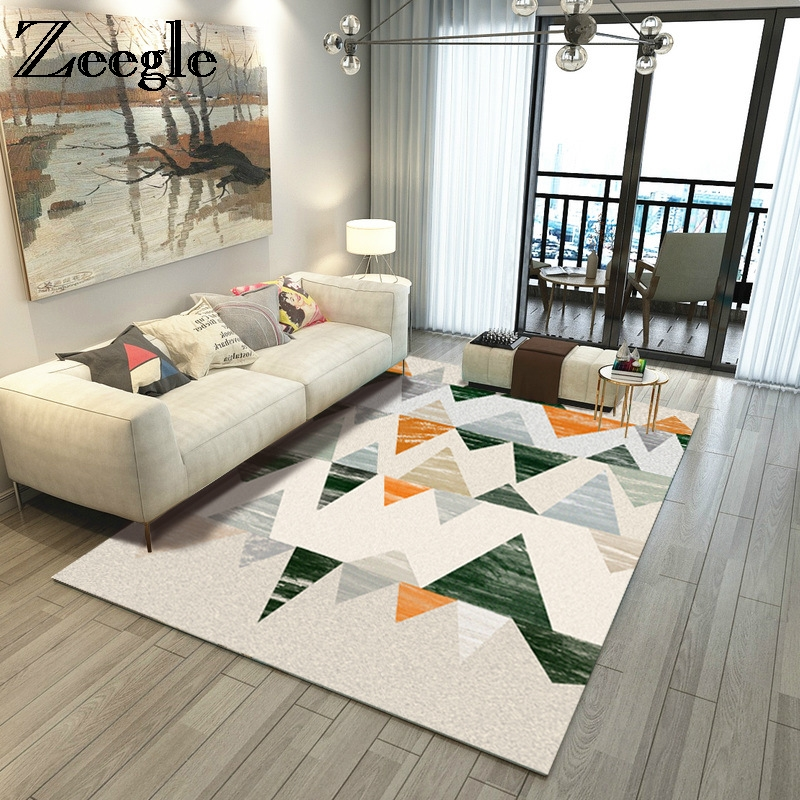 US $24.14 44% OFF|Zeegle Large Size Carpets For Living Room Home Area Rugs  For Bedroom Anti slip Sofa Table Floor Mats Dining Room Rug Parlor Mats-in  ...