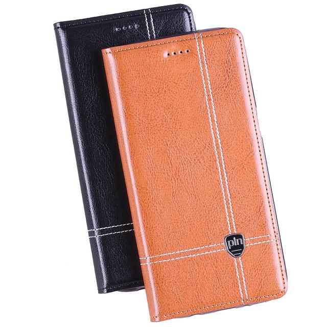 "Para zte blade a1 5.0 ""case capa, projeto do cavalo louco luxo bolsa em couro genuíno virar case capa para zte a1 a 1 casos tampa do telefone"