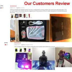 Image 2 - Electronic cigarette Veeape warwolf 150w pod vape kit Laser squonk box mod vape kit 3500mAh battery vapor vs Somant Pasito kit